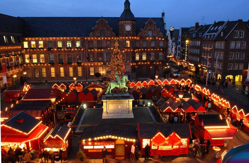 Noël-Düsseldorf-allemagne