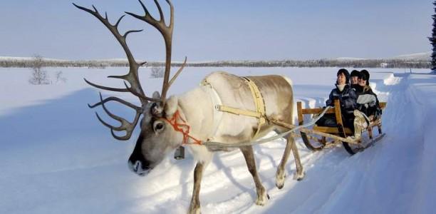 La Laponie, le pays de glace et du père noël